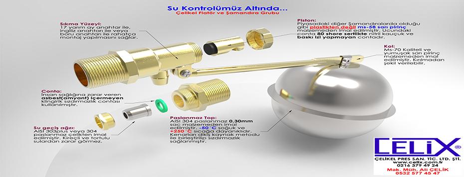 304 Kalite 0,30mm </br></br>Paslanmaz Toplu Flatör