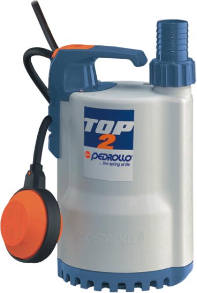 TOP - Pedrollo Plastik Gövdeli Drenaj Dalgıç Pompa