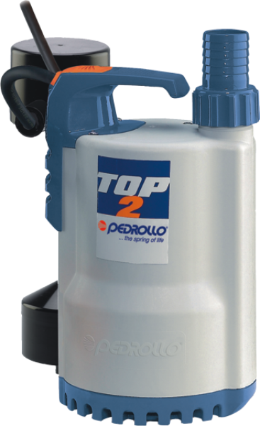 TOP-GM - Pedrollo Gizli Flatörlü Plastik Drenaj Dalgıç Pompa