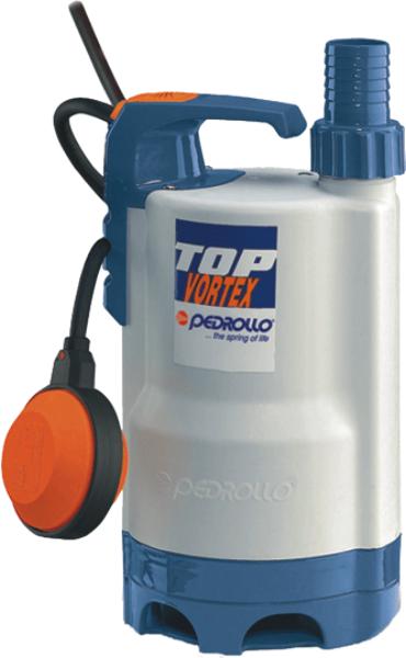 TOP-VORTEX - Pedrollo Plastik Gövdeli Drenaj Dalgıç Pompa