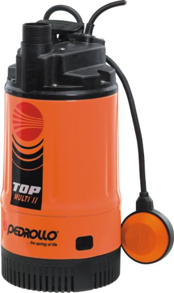 TOP MULTI 2 - Pedrollo Plastik Gövdeli Drenaj Dalgıç Pompa