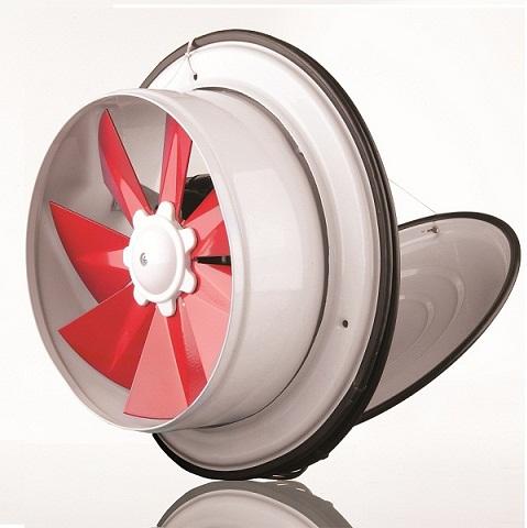 Dündar Pencere Tipi Kapaklı Aspiratör Fan