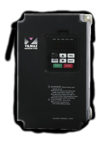 YE8000 Uzman Seri Yılmaz Redüktör Sürücü-İnvertör