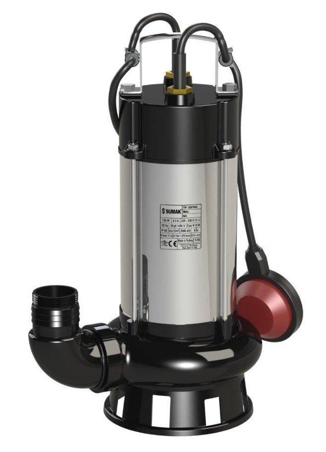 SDF 10/2 14/2 18/2 - Sumak Foseptik Dalgıç Pompası