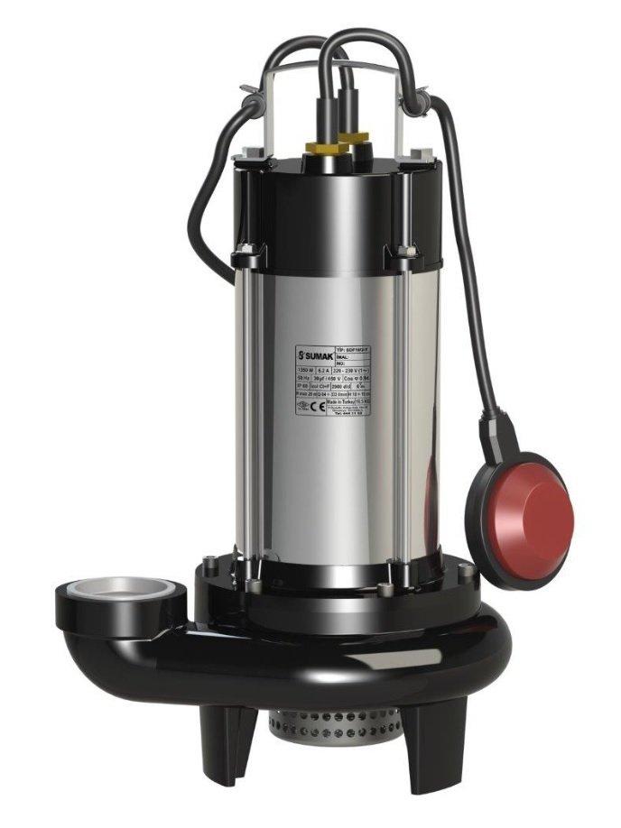 SDF 18/2-Y Sumak Paslanmaz Drenaj Dalgıç Pompası