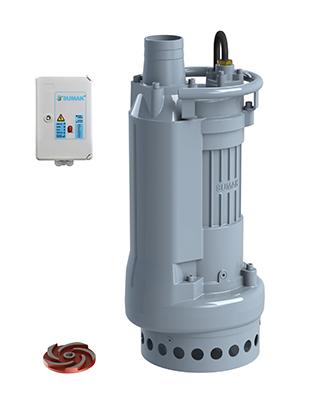 """SDTK - Sumak 4"""" Atık Su ve Foseptik Dalgıç Pompası"""