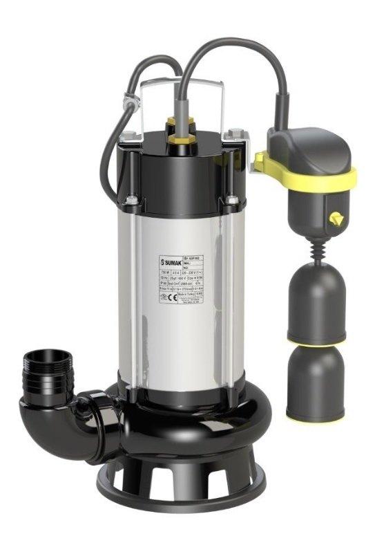 SDF 14/2-A 18/2-A Sumak Asansör Flatörlü Foseptik Dalgıç Pompası
