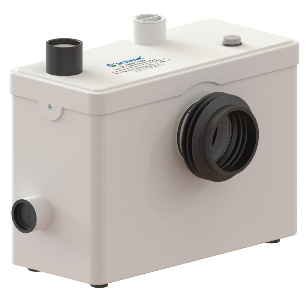 SMAC 600 Sumak WC Öğütücülü Bıçaklı Tahliye Pompası