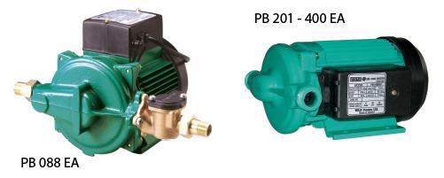 PB EA - Wilo Monofaze Otomatik Pompamatlar
