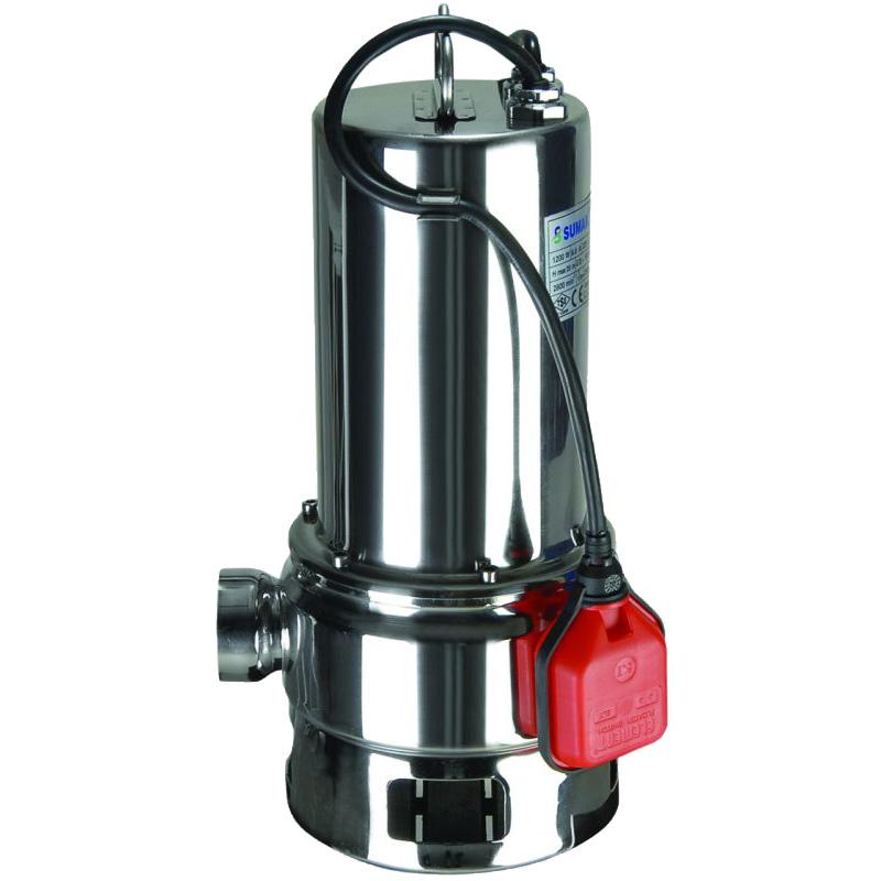 SDF15-2 - Sumak Paslanmaz Kirli Su Dalgıç Pompası