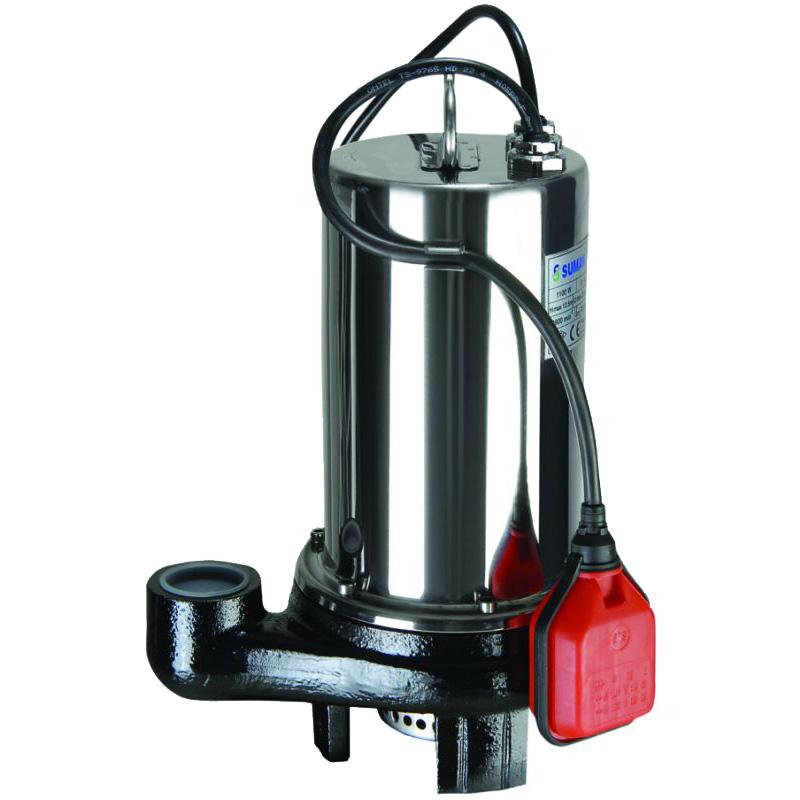 SDF15-1.5 - Sumak Paslanmaz Kirli Su Dalgıç Pompası