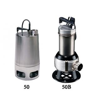Unilift AP 50 - Grundfos Paslanmaz Atık Su Drenaj Dalgıç Pompası
