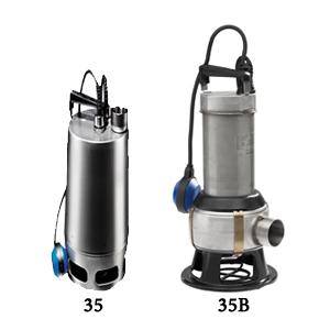 Unilift AP 35 - Grundfos Paslanmaz Atık Su Drenaj Dalgıç Pompası