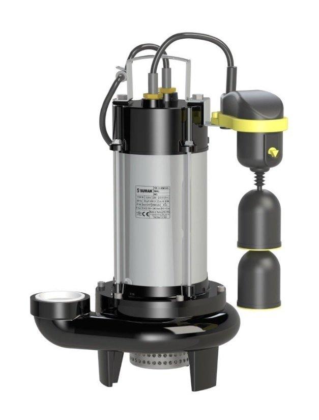 SDF 18-2Y-A Sumak Paslanmaz Asansör Dalgıç Pompası