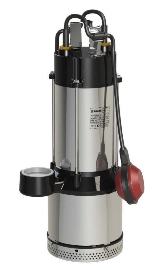 SDF 8-3 12-3 Sumak Paslanmaz Temiz Su Dalgıç Pompası