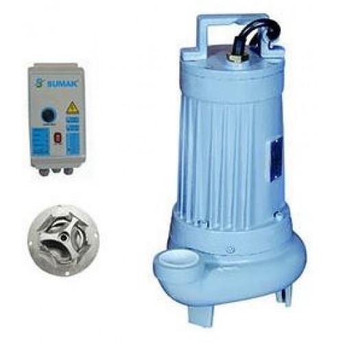 SBRT-P Sumak Trifaze Parçalayıcı Bıçaklı Dalgıç Pompası
